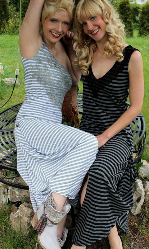 Sommerkleider gestreift