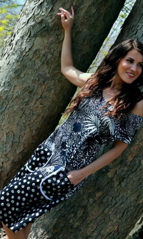 Sommerkleid ,im Rücken zum binden